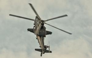 Маневр боевого вертолета