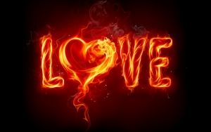 Love огнем