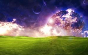 Красивый фэнтези мир
