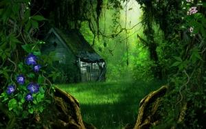 Избушка в лесу