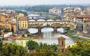 Флоренция река Арно