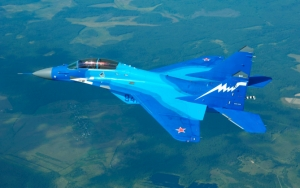Военный самолет МиГ 29