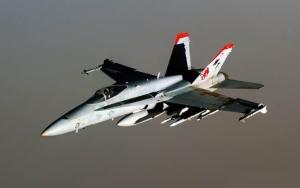 Самолет F/A-18 Hornet