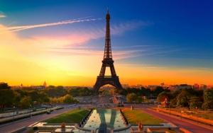 Эйфелева башня во Франции