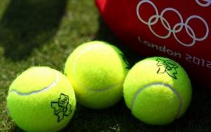 Теннисные мячи Олимпиада 2012