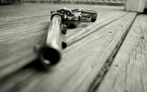 Револьвер с длинным стволом