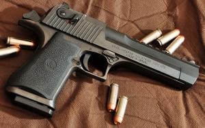 Мощный пистолет