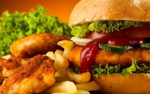 Аппетитный гамбургер