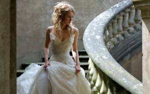 Кира Найтли в свадебном платье