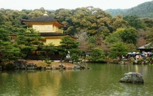 Храм Кинкаку-дзи в Киото
