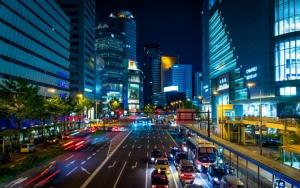 Осака ночью