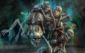 Dark Souls скелеты