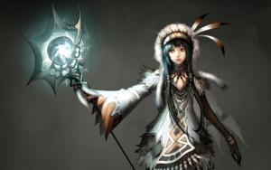 Девушка шаман