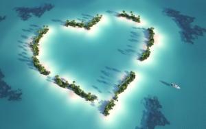 Острова сердечко