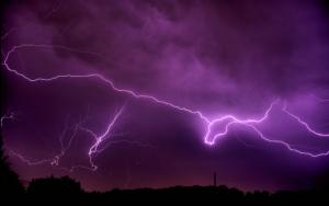 Фиолетовая гроза