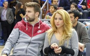 Шакира и Пике на матче