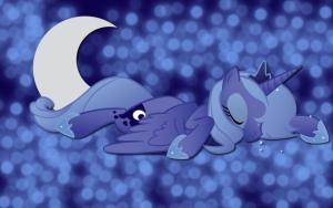 Спящая Луна
