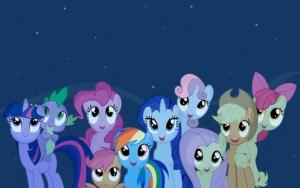 Пони и звезды