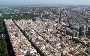 Мадрид вид сверху