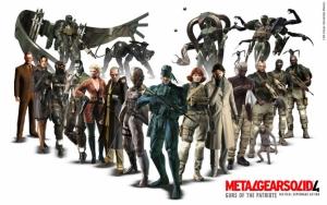 Metal Gear Solid 4 персонажи