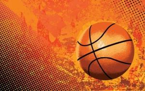 Баскетбольный мяч 3d