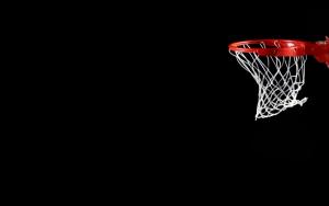 Баскетбольное кольцо с сеткой