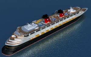 Лайнер Disney 3D