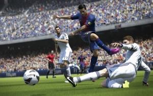 Barca vs Real FIFA 14
