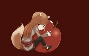 Холо с яблоком :)