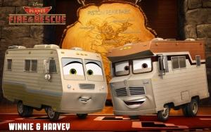 Винни и Харви Самолеты: Огонь и вода