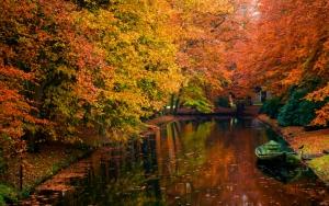 Осенний водоем