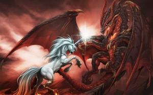 Дракон и Единорог