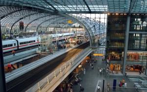 ЖД вокзал в Берлине
