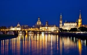 Дрезден ночью