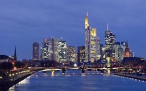Франкфурт-на-Майне ночью