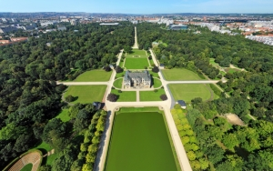 Парк в Дрездене