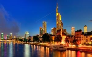 Франкфурт ночью