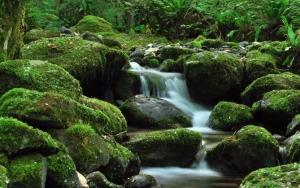 Меленький водопад