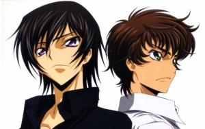 Лелуш и Сузаку