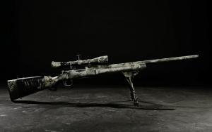 Камуфляжная снайперская винтовка