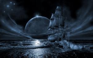 Готичный корабль