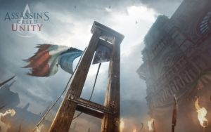 Assassin's Creed Unity гильотина