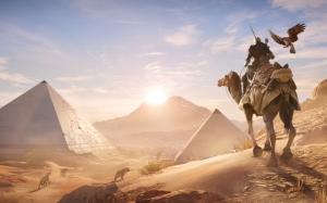 Assassin's Creed Origins пирамиды