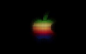 Лого Apple из точек