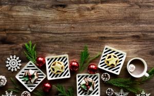 Сладости и какао на Новый год