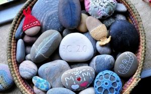 Корзинка камней