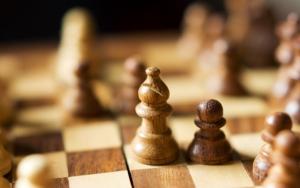 Слон и пешка в шахматах
