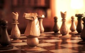 Красивые резные шахматы