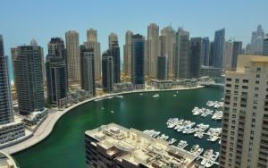 Порт в Дубае ОАЭ