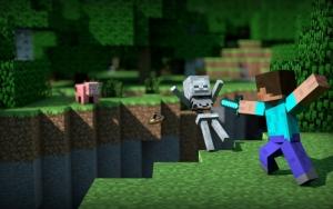 Сражение в Minecraft